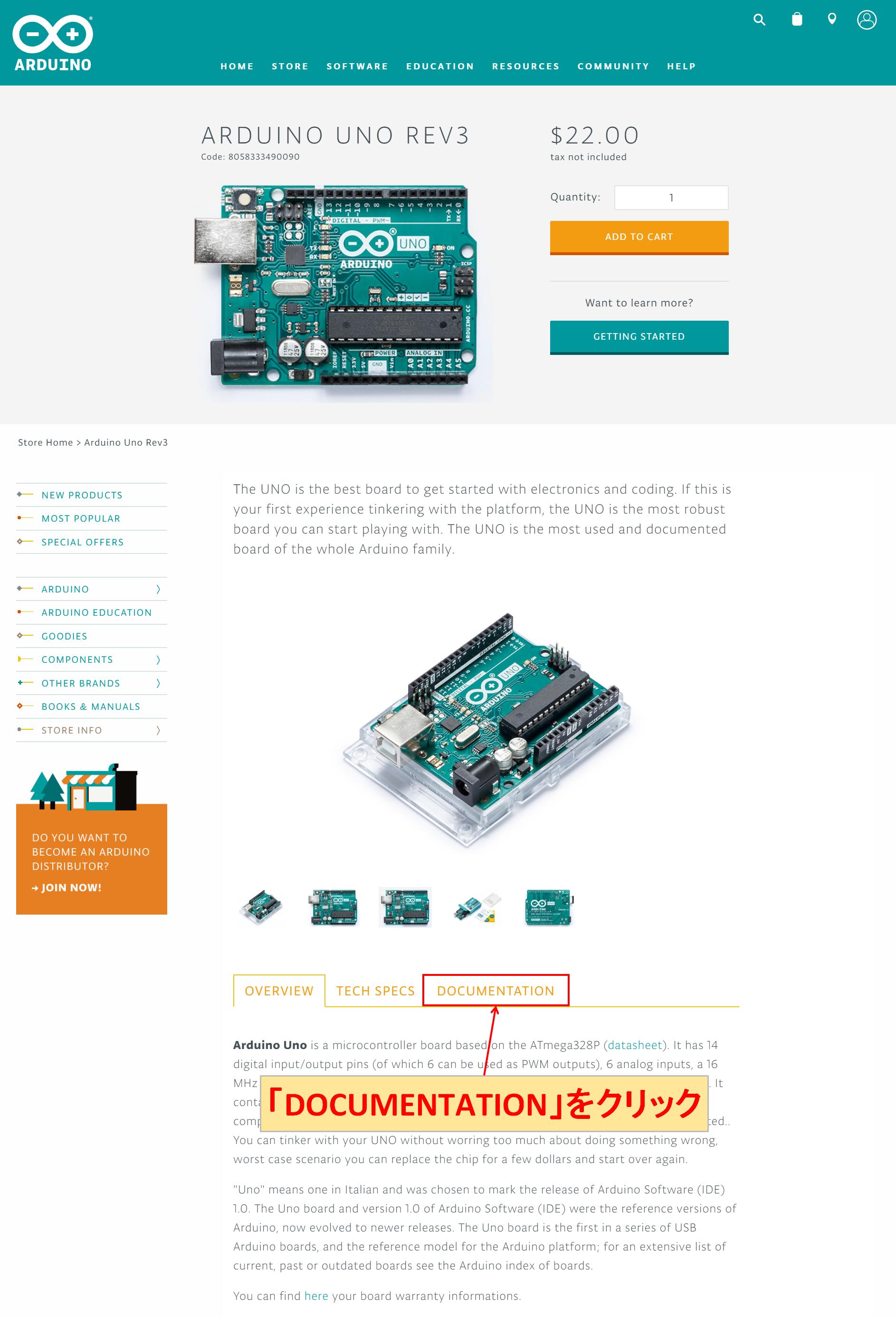 Arduino Uno DOCUMENTATION