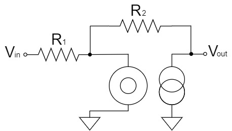 オペアンプ 反転増幅回路 ヌラーモデル