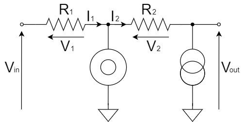 オペアンプ 反転増幅回路 ヌラーモデル 関係式