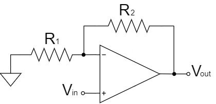 オペアンプ 非反転増幅回路
