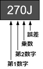 インダクタ コイル 数字表示 読み方