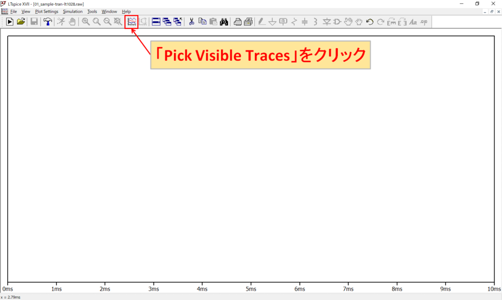 LTspice XVII Pick Visible Traces