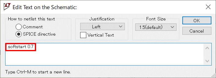 LTspice XVII LTC3111 .softstart 構文