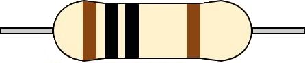 4バンド抵抗 カラーコード 読み方