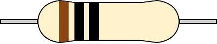 3バンド抵抗 カラーコード 読み方